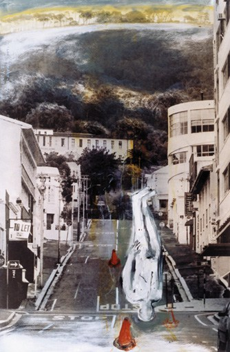 where the mountain meets the city (2002). Arlene Amaler-Raviv
