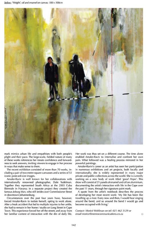 """autobiography in paint"" review - Arlene Amaler-Raviv"