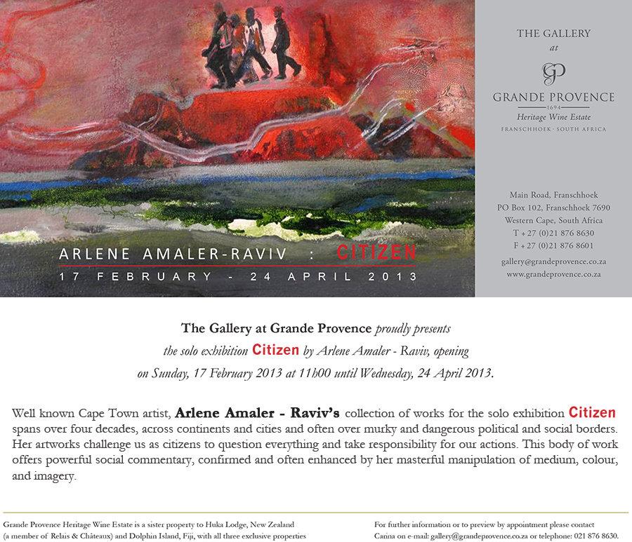 Citizen (2013). Arlene Amaler-Raviv