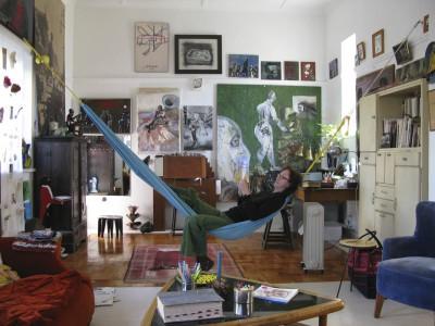 Arlene in the Studio
